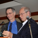 Peter honors Dr. Paul Landsbergis