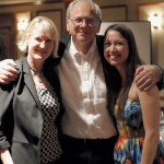 Susan H, Peter Schnall and Erin Wigger