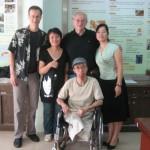 PAUL LANDSBERGIS, ANNA LI, PETER SCHNALL, XIAOYUAN LUO AND GUOZHU MAI IN TAPEI