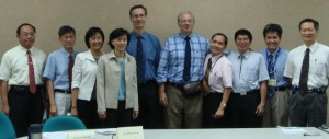 PAUL LANDSBERGIS, PETER SCHNALL AND COLLEAGUES IN TAIPEI